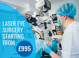 Get £500 off on Laser Eye Surgery at Optimal Vision