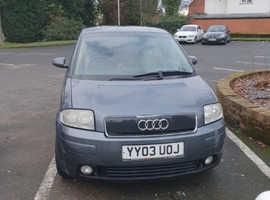 Audi A2, 2003 (03) Grey Hatchback, Manual Petrol, 105,000 miles