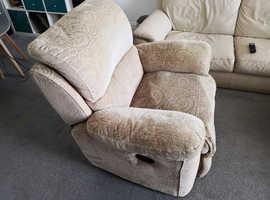 Recliner armchair single seat sofa