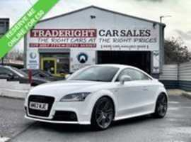 2014/63 Audi TT 2.0 TFSi Black Edition finished in Ibis White.  26269  miles