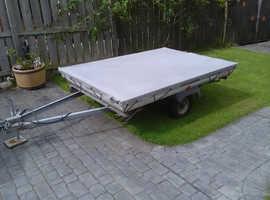 Lightweight trailer tent