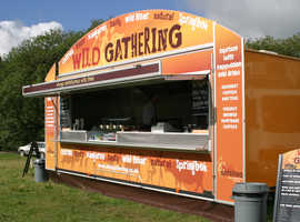 Mobile Catering Trailer Unit