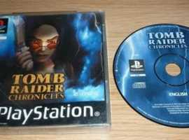 Tombraider Chronicles - Playstation 2