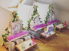 Teepee hire party business for sale