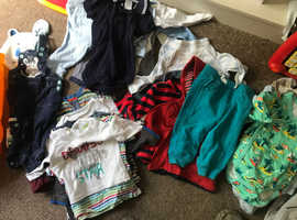 CHILDS   CLOTHING    3  MONTHS    TO   2  YEARS      WASHED  AND CLEAN    IN GREAT SUTTON