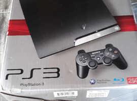 PS3 250gb console