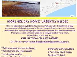More Holiday Homes Urgently Needed