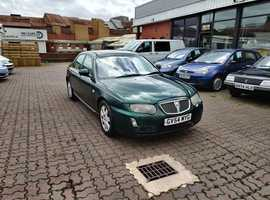 Rover 75, 2004 (54) Green Saloon, Automatic Diesel, 165,387 miles