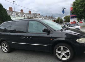 Chrysler Voyager, 2003 (53) Black Estate, Manual Diesel, 160,000 miles