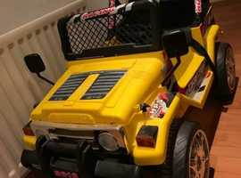 Electric Ride-On Jeep 4x4 12Volts for child - by Raptor