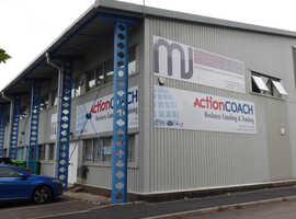 Modern, light and airy ground floor workshop/retail unit