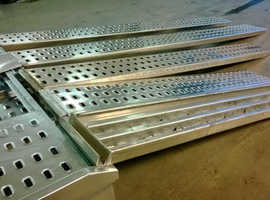 BRAND NEW Aluminium punched decking ramps for recovery trucks / plant / trailer 3m