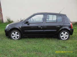 Renault Clio, 1.2cc..Black...5 Doors Hatchback, Face Lift Model.. 86 miles..Full Mot