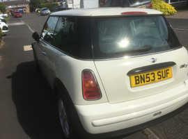 Mini MINI, 2003 (53) White Hatchback, Manual Diesel, 122,812 miles
