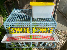 Fully assembled Quail Housing System (Cage)