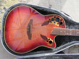 OVATION CELEBRITY DELUXE ELECTRO ACCOUSTIC