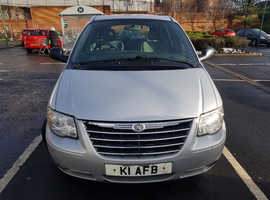 Chrysler Voyager, 2007 (57) Silver MPV, Automatic Diesel, 128,000 miles