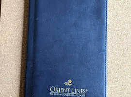 ORIENT LINES THE DESTINATION CRUISE SPECIALISTS TRAVEL WALLET 4 POCKETS GOOD CON