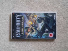 Call of duty psp game disk