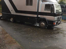1994 MAN 8.153. 7.5 T Horsebox For Sale