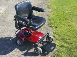 Lightweight Electric Wheelchair, can deliver. New batteries.