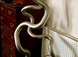 Stainless Steel Designer Central Heating Radiator , cost £3,500 take £1,000 .