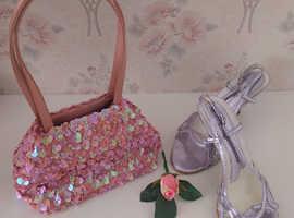 Ladies dress shoe& handbag