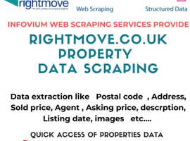 Want Quick Aceess of UK Properties Information -?? Infovium web scraping services