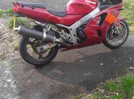 Kawasaki zx6r f3