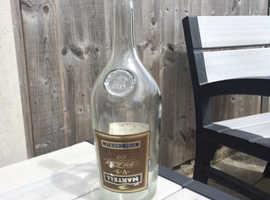 Large glass bottle 4.5litre