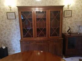 Range of Yew Wood Furniture