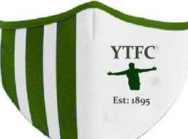 YTFC Est 1895 social face covering
