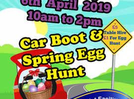 Car Boot and Spring Egg Hunt 6 April 2019