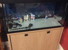 Fish tank 3ft full set up