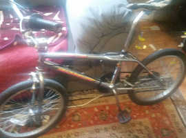 good condition bmx bicycle is ready to use