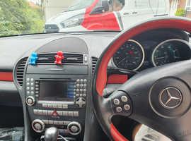 Mercedes Slk, 2008 (08) Silver Convertible, Automatic Petrol, 109,117 miles