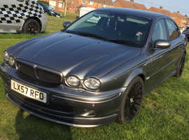 Jaguar X-Type with body kit-2007 (swap or sale)