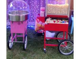 Popcorn ,candyfloss, hotdog machine hire