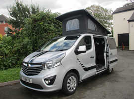 VAUXHALL VIVARO 2700 SPORTIVE  CDTI  ECO SS    2016   22000  4 BERTH   POP TOP ROOF