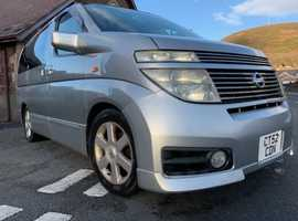 Nissan Elgrand  Highway Star, 2003 (52) Silver MPV, Automatic Petrol, 99,695 miles [may rise used weekly]