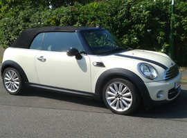 Mini MINI, 2011 (11)  Cooper White Convertible, Manual Petrol, 57,000 miles