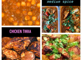 Delicious home cooked healthy curries slimming no fat no oils. Weekly meals available as well