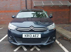 Citroen C4, 2013 (13) Blue Hatchback, Manual Diesel, 63,000 miles
