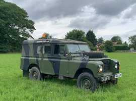 Ex Army Land Rover