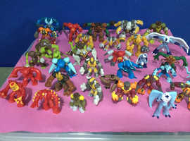 Large Collection of Gormiti Figurs x Over 35