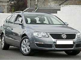 VW Passat, 2007 (07) Metallic Grey, Diesel, excellent interior 55,600 miles