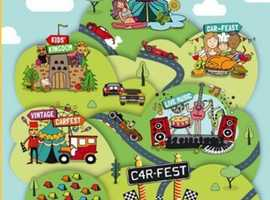 CarFest Family Weekend Early Arrival Camping 6 Steam Fair tickets