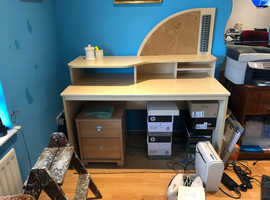 Desk free for collection in Nether Kellet