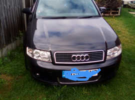 Audi A4, 2004 (54) Black Estate, Cvt Diesel, 202,000 miles