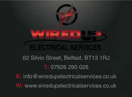 Belfast electrician / Wired Up Electrical Services